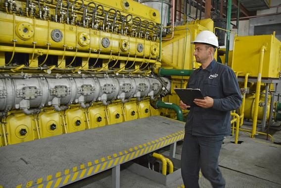 Дизельный генераторы на Ровенской АЭС