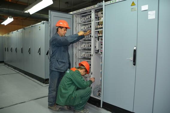 Электрощитовое оборудование на Ростовской АЭС