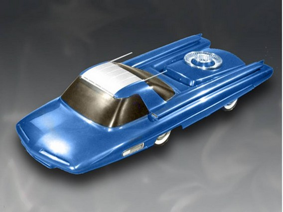 Ford Nucleon - первый ядерный автомобиль