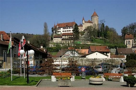 Город Лусенс. Швейцария