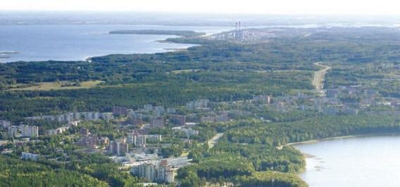 Город Висагинас - место планируемой литовской АЭС
