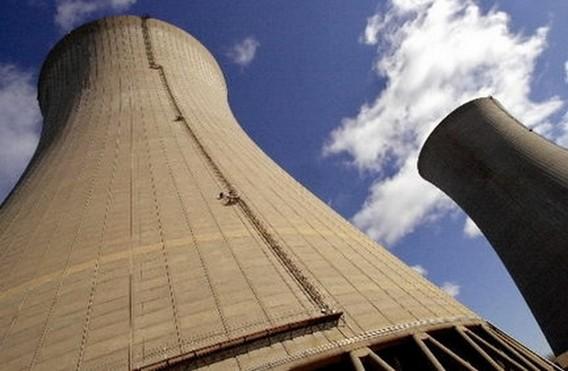 Градирни АЭС Перри. США. Фото