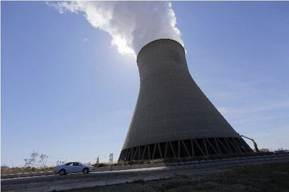 Градирня АЭС Хоуп Крик. США
