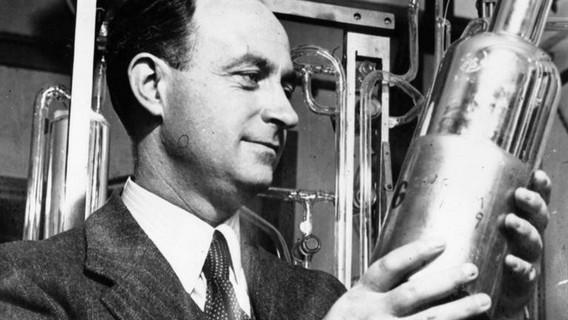 Итальянский физик-ядерщик Энрико Ферми