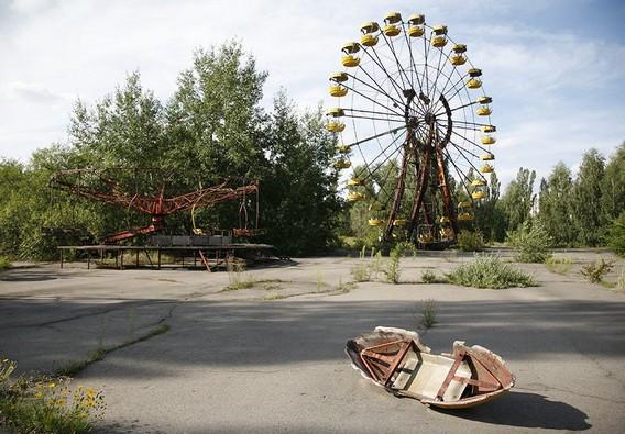 Колесо обозрения. Чернобыль. Украина