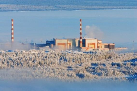 Кольская АЭС зимой фото