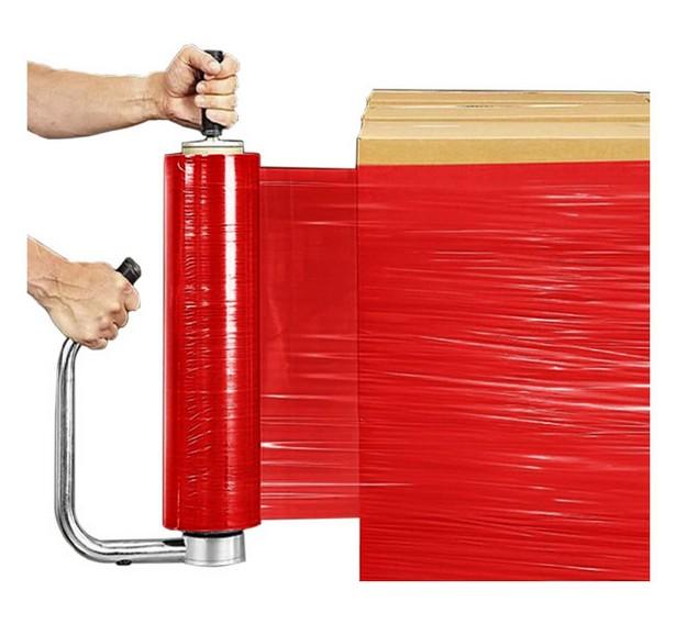 Красная стрейч пленка