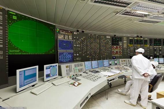 Курская АЭС внутри Фото