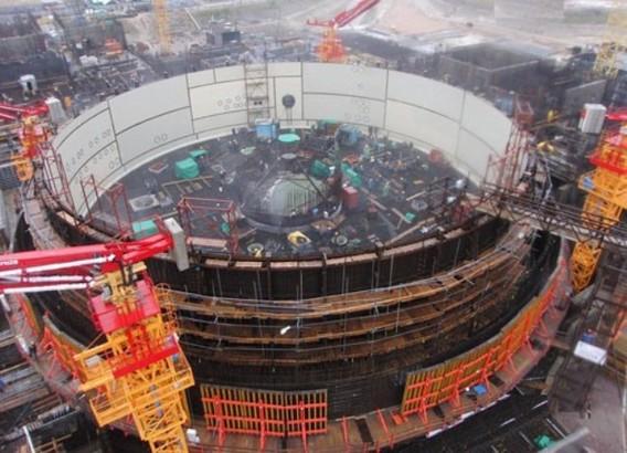 ЛАЭС 2 фото строительства реактора