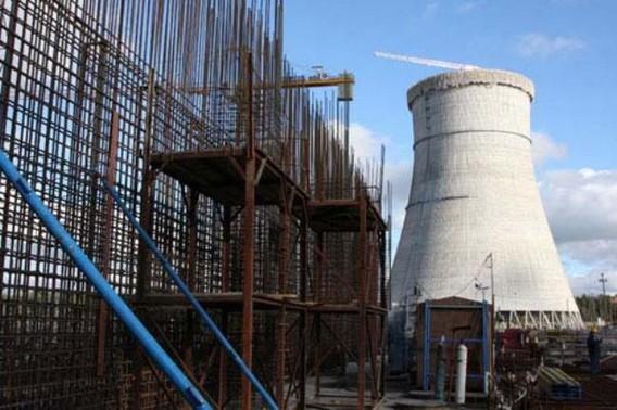ЛАЭС 2 градирни фото