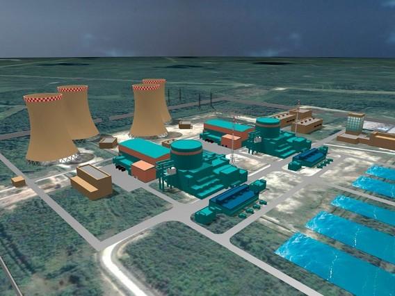 Ленинградская АЭС 2 схема
