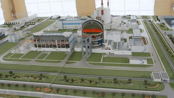 Макет Балтийской АЭС. Фото