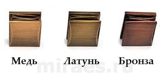 Медь латунь и бронза отличие