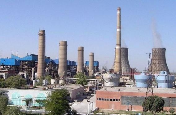 Навоийская ТЭС на газу