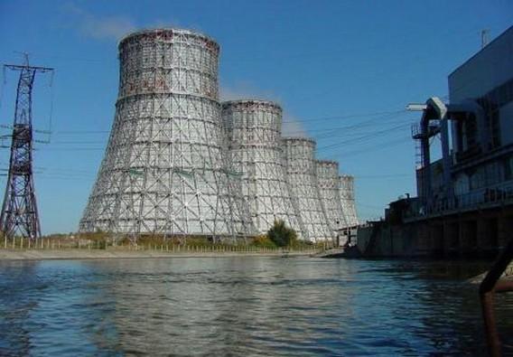 Нововоронежская АЭС. Градирни. Фото