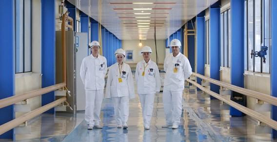 Персонал Калининской АЭС. Россия. Фото