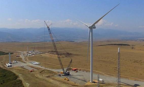 Первая ветряная электростанция в Грузии