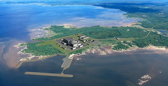 План АЭС Ханхикиви. Финляндия