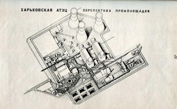 Планируемая схема Харьковской АТЭЦ