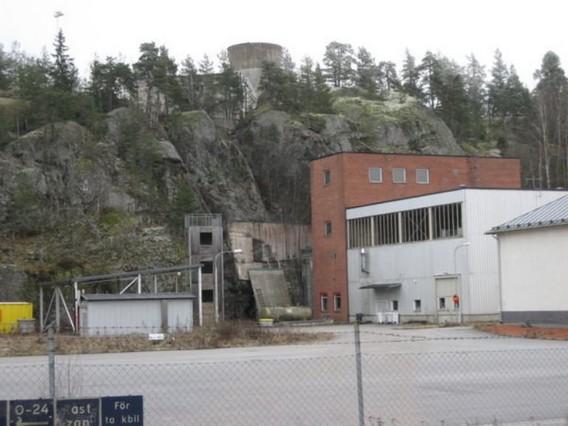 Подземная АЭС Аджеста. Швеция. Фото