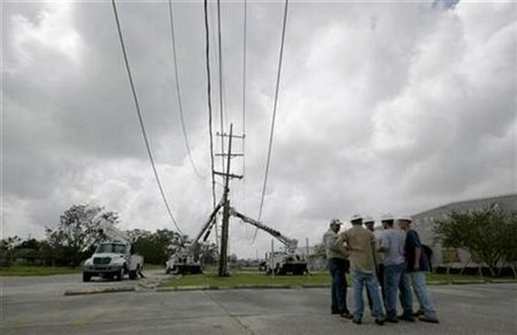 Последствия урагана Густав. США. 2008