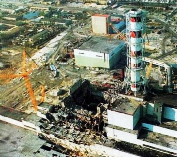 Последствия взрыва на ЧАЭС. 1986. Фото