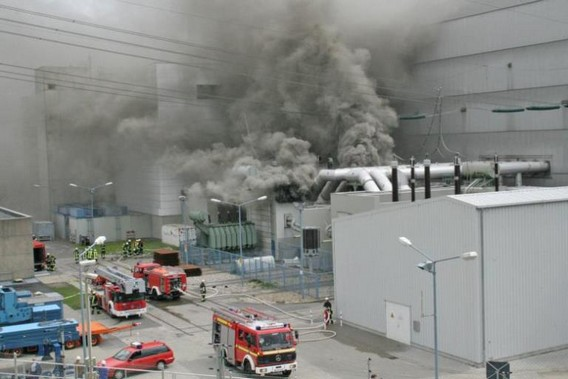 Пожар 2007 года на АЭС Крюммель