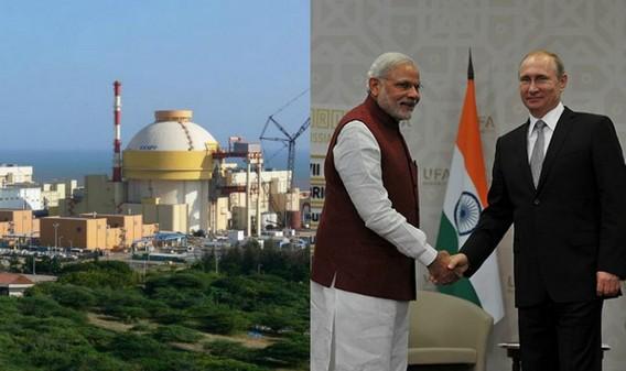 Путин и Моди запустили АЭС Куданкулам