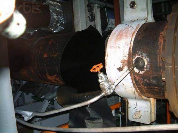 Авария на АЭС Михама 9 августа 2004 года. Разрыв трубы