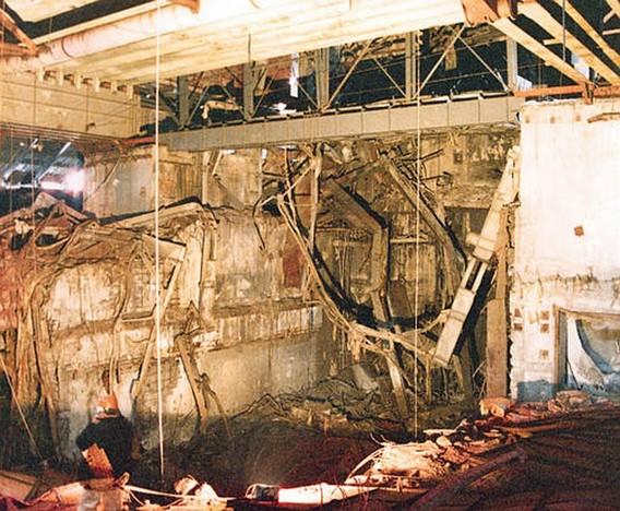Реактор АЭС Уиндскейл после аварии