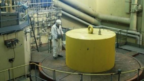 Реактор первой в мире АЭС в Обнинске