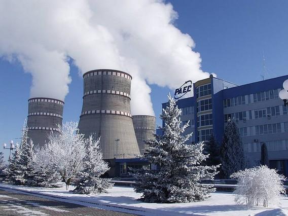 Ровенская АЭС. Наши дни. Фото