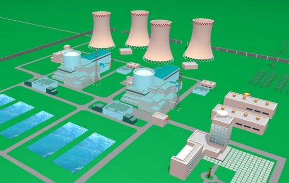Северская АЭС. Проект. Фото