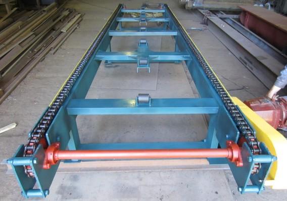 Устройства для натяжения цепи скребковых конвейеров недостатки пластинчатого конвейера