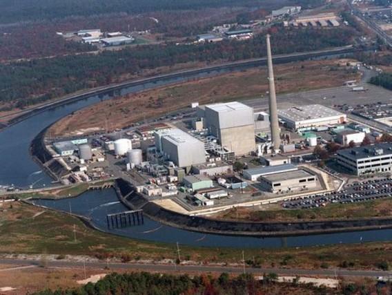 Старейшая АЭС США - Ойстер Крик. Фото