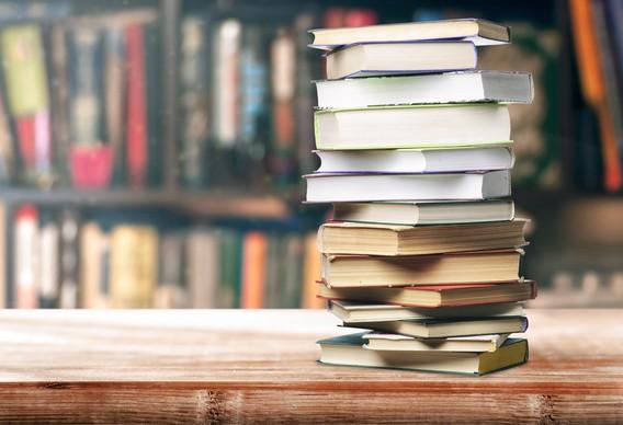 Стопка учебников