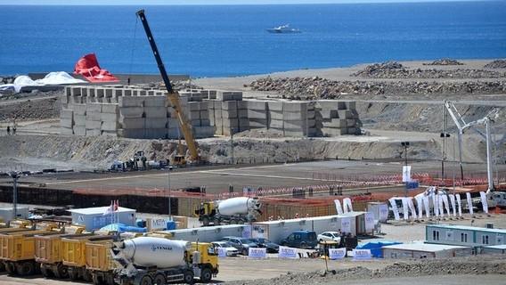 Строительство АЭС Аккую в Турции