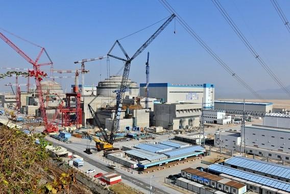 Строительство АЭС Ниндэ в Китае. Фото