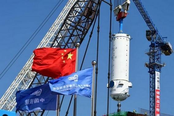 Строительство АЭС Шидаовань в провинции Шандунь. Китай. Фото