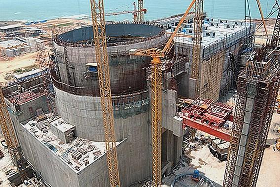 Строительство Балтийской АЭС. Фото