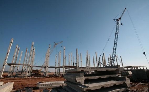 Строительство Белорусская АЭС фото