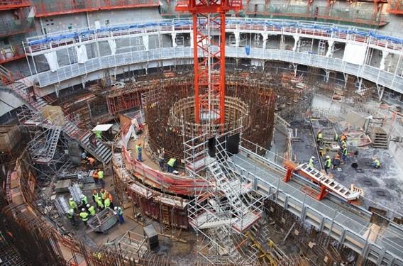 Строительство третьего энергоблока АЭС Фламанвиль
