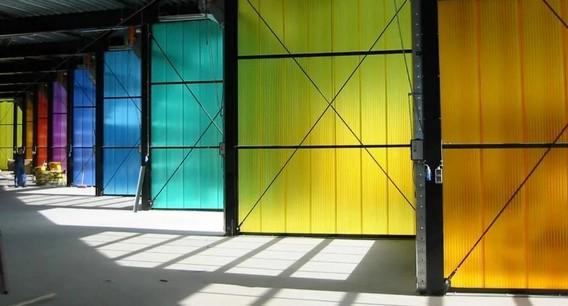 Цветной поликарбонат на складе