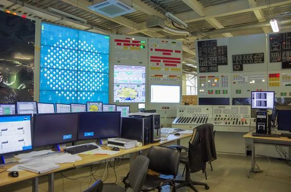 Тренажер пульта Смоленской АЭС