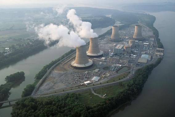 Три майл Айленд - печально известная АЭС США. Фото
