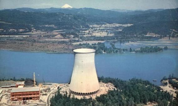 Троянская атомная электростанция. США. Фото