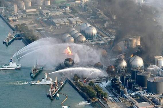 Тушение пожара на АЭС