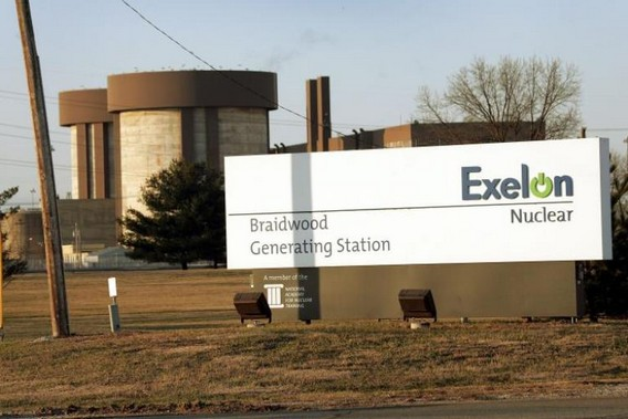 Въезд на АЭС Брэйвуд. США. Фото