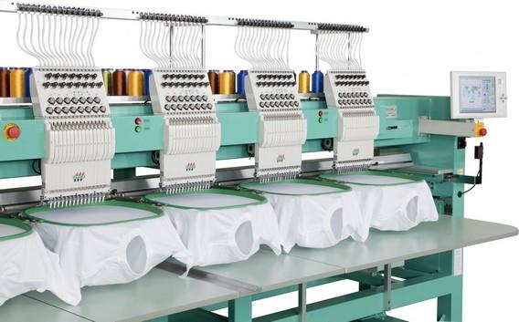 Вышивальная машина несколько вышивок по шаблону