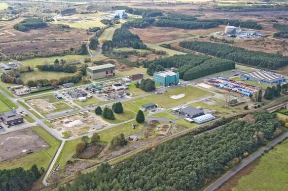 Ядерный центр Уинфрит. Великобритания. Фото